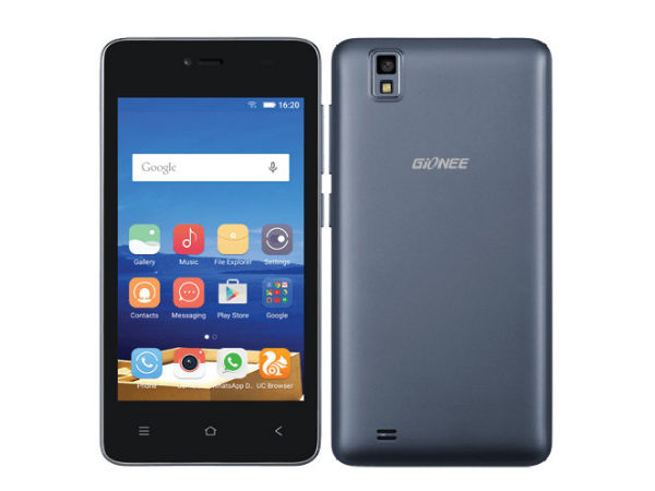 Gionee Pioneer P2M Specification and Reviews- Gionee Androids