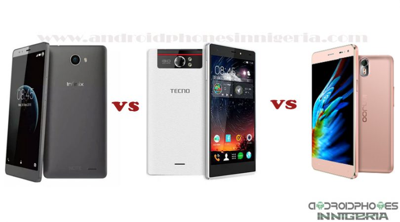 Infinix Note 2 X600 (The Big 6) vs  Tecno Camon C8 vs