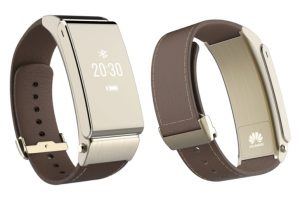 Huawei TalkBand B2 with Leather Strap