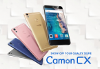 Tecno Camon CX User Interface