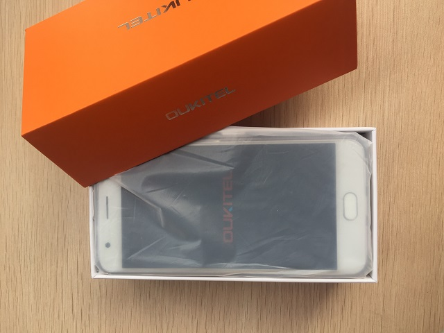 oukitel k6000 plus unboxed