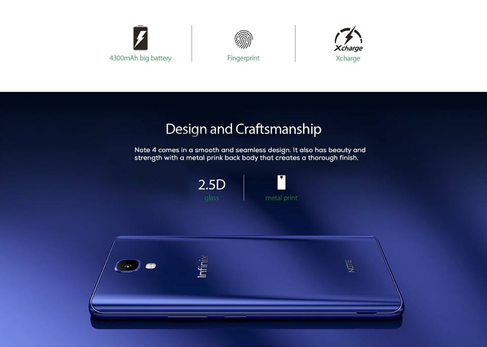 Infinix Note 4 Body