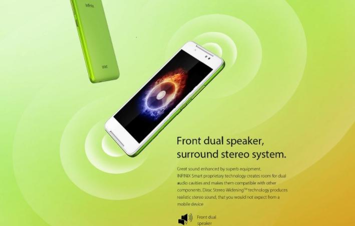 Infinix Smart - Sound