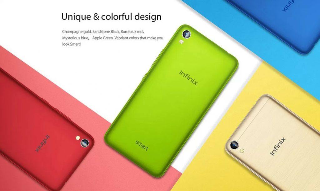 Infinix Smart Review - Colours
