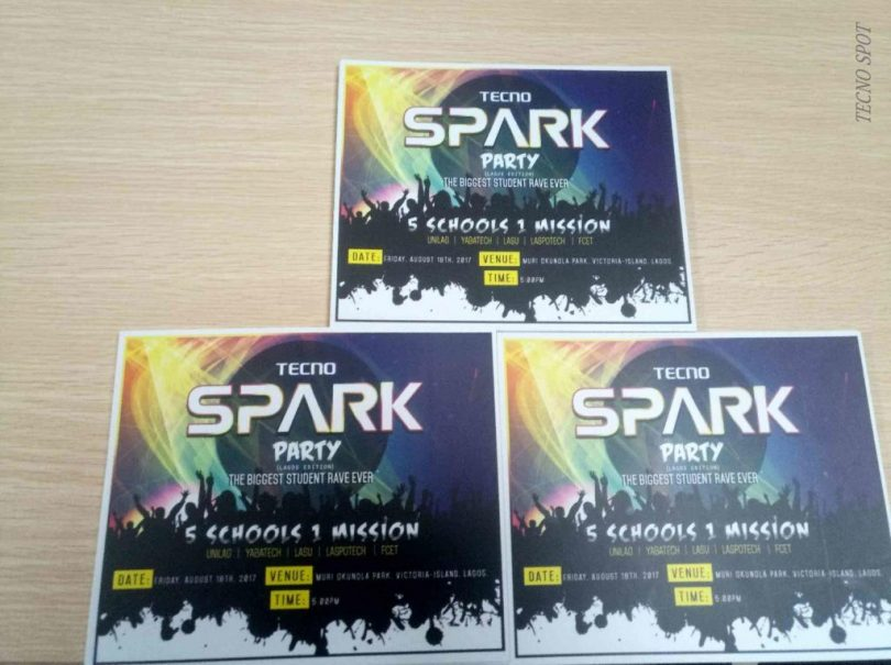 Tecno Spark Series Launch