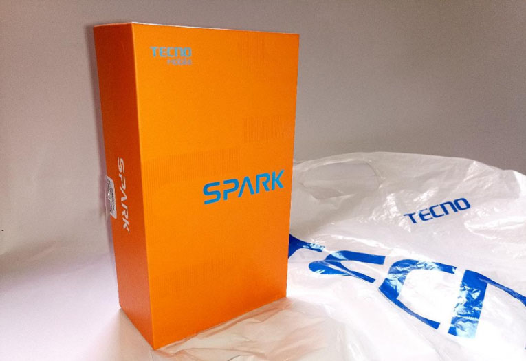tecno spark unboxing