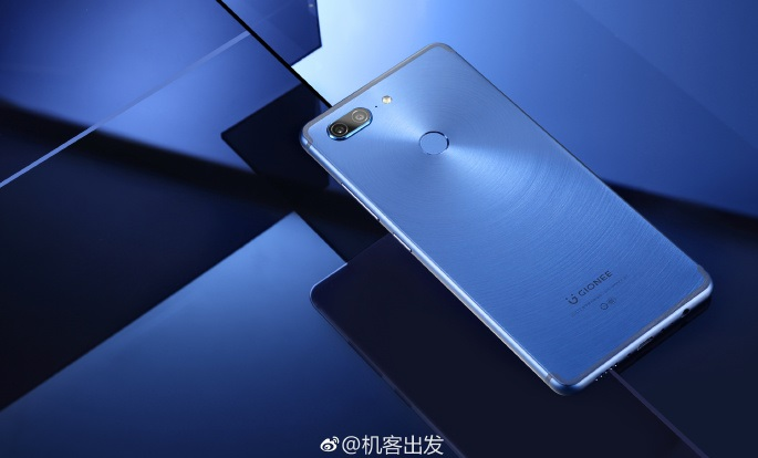 gionee m7 leaked images blue