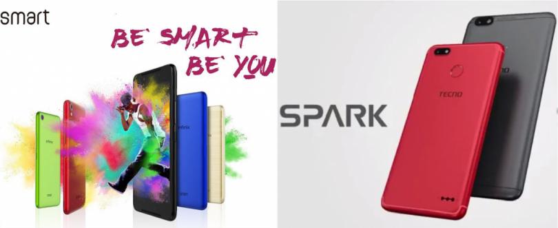 Infinix Smart vs Tecno Spark K7