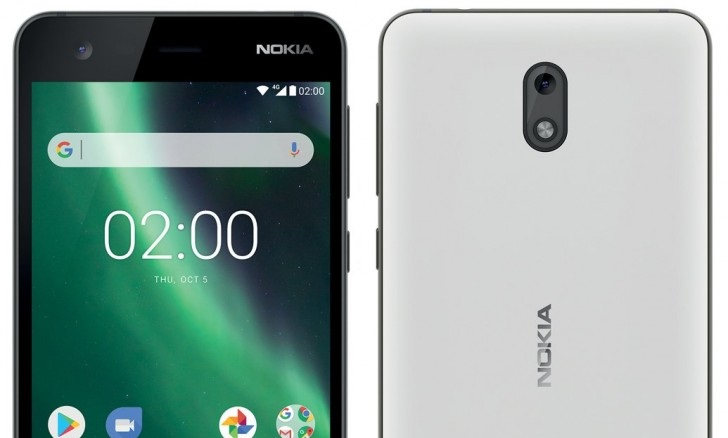 nokia 2 in white color