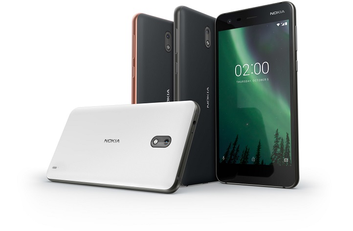 nokia 2 design and colors