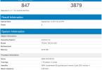 Tecno AX8 on Geekbench