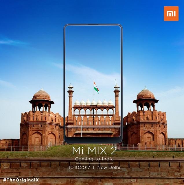 xiaomi mi mix 2 in india