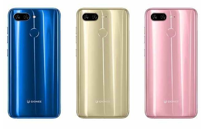 gionee s11 colors