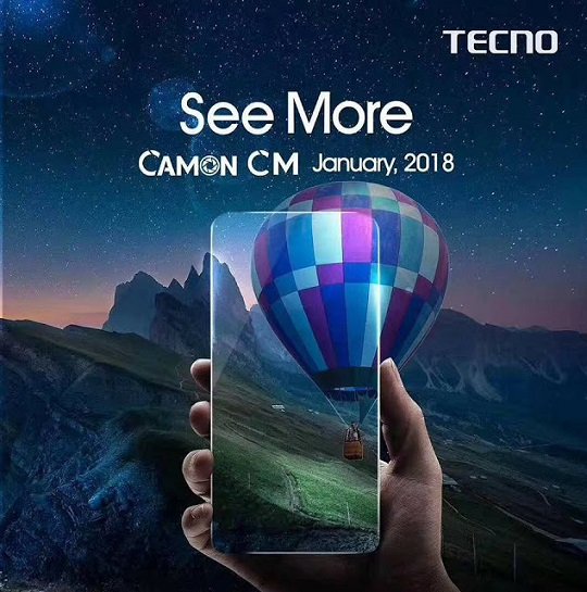 tecno camon cm teasers picture