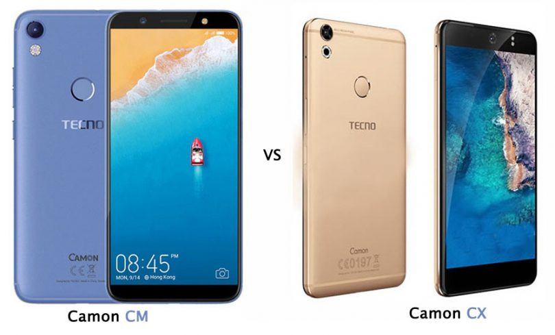 Tecno Camon Cx Vs Tecno Camon Cm