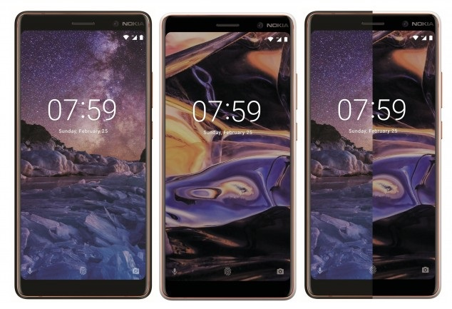 nokia 7 plus front renders