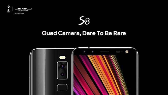 leagoo S8 cameras