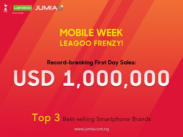 leagoo phone on Jumia