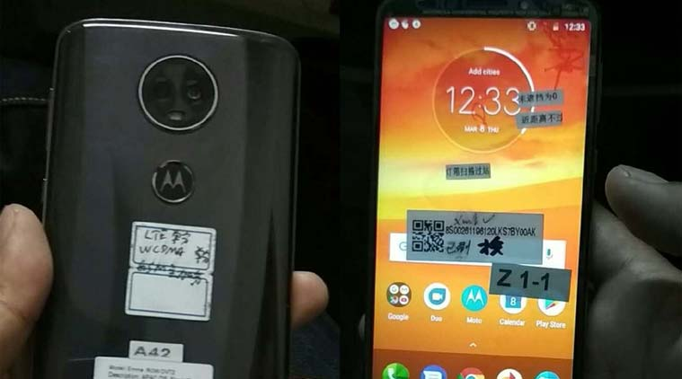 Moto E5 Plus leaks in new pictures, shows off front and back