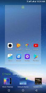 leagoo s8 home screen theme