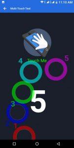 leagoo s8 multitouch test