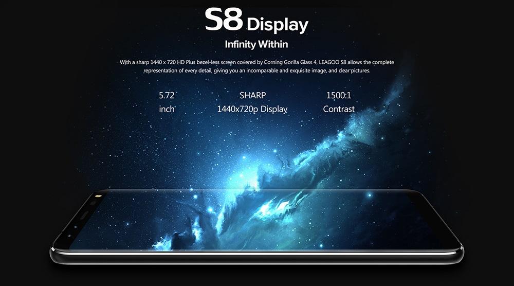 leagoo s8 screen