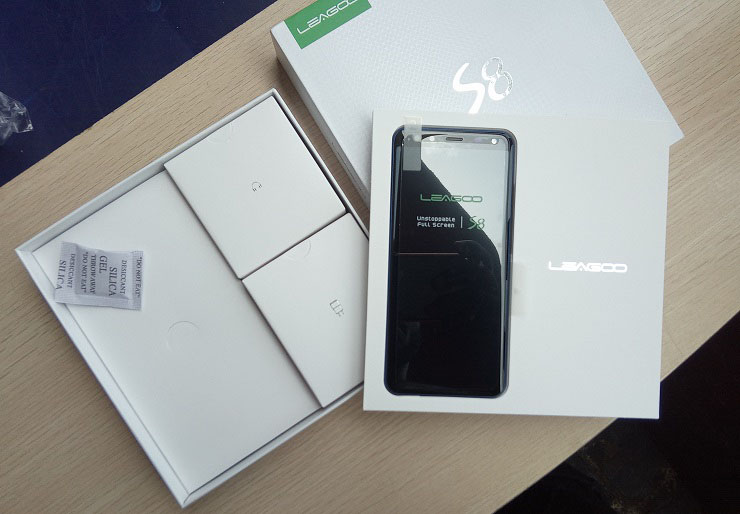 leagoo s8 unboxed 2