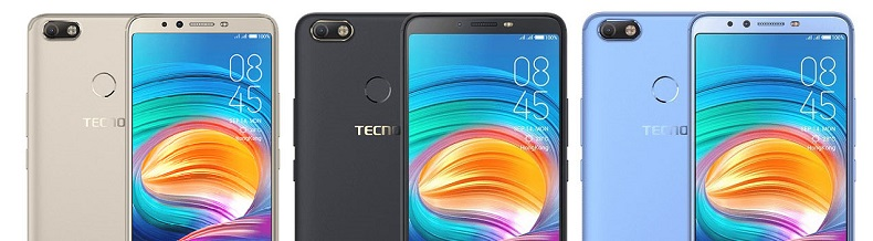 tecno Camon X three colors