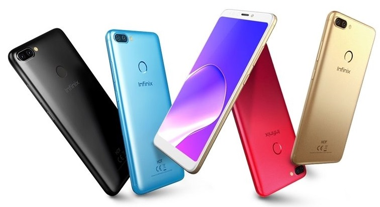 infinix hot 6 pro colors