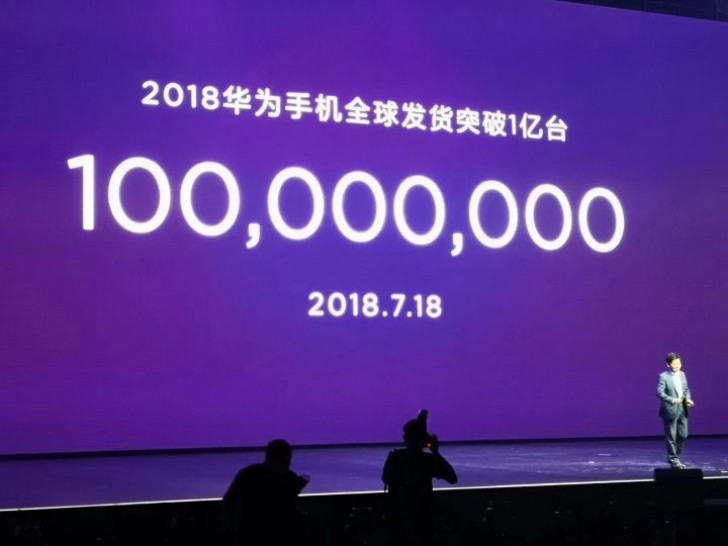 Huawei has sold more than 100 million smartphones in 2018