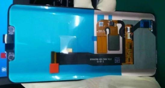 Huawei Mate 20 Pro Front Panel Leak