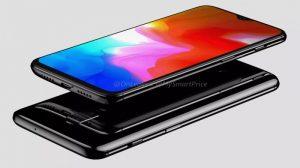 OnePlus 6T Leaked Render