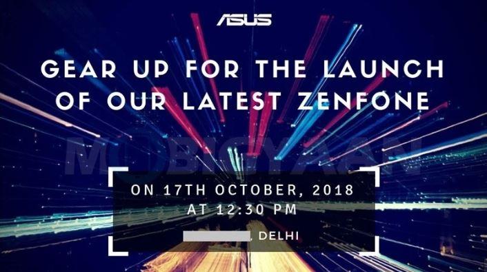 Asus ZenFone Launch Event On October 17, 2018