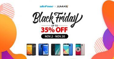 Ulefone Black Friday deals on Jumia