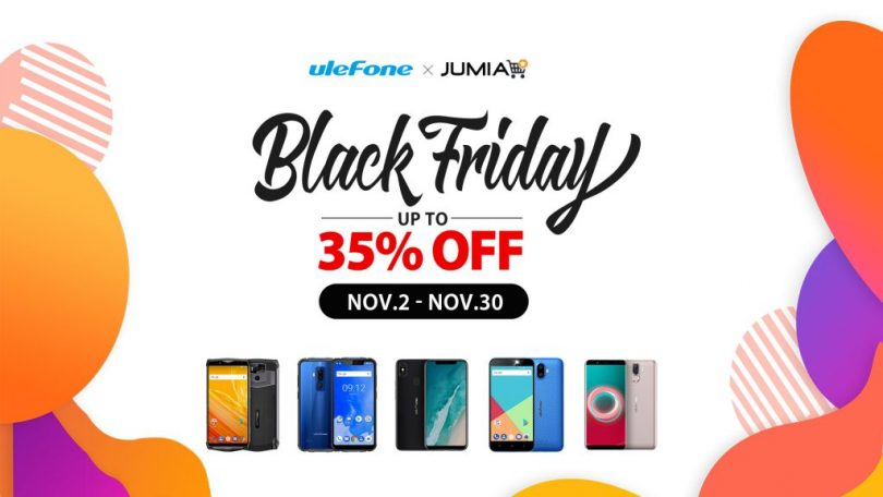 Ulefone Black Friday deals on Jumia