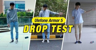ulefone armor 5 drop test