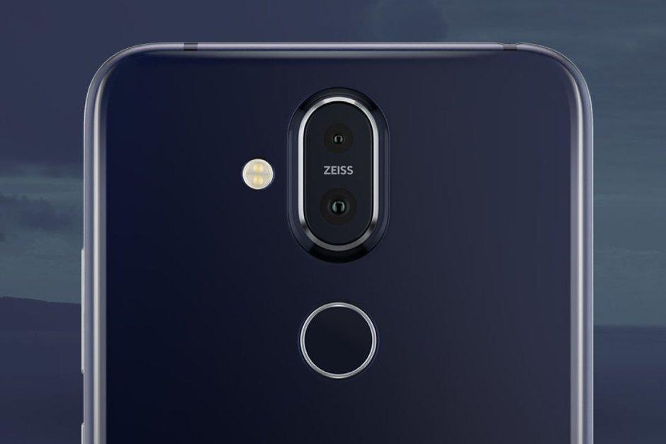Nokia 8.1 Rear Camera Setup
