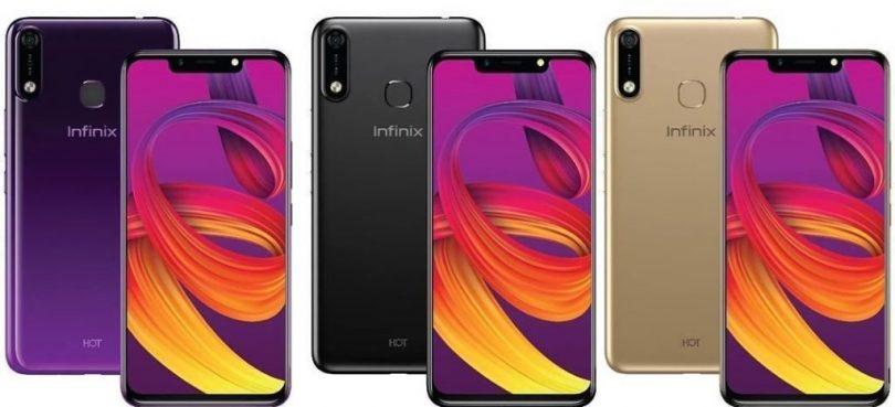 infinix hot 7 pro colors