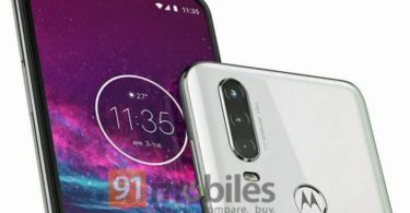 Motorola One Action renders reveals triple rear camera setup