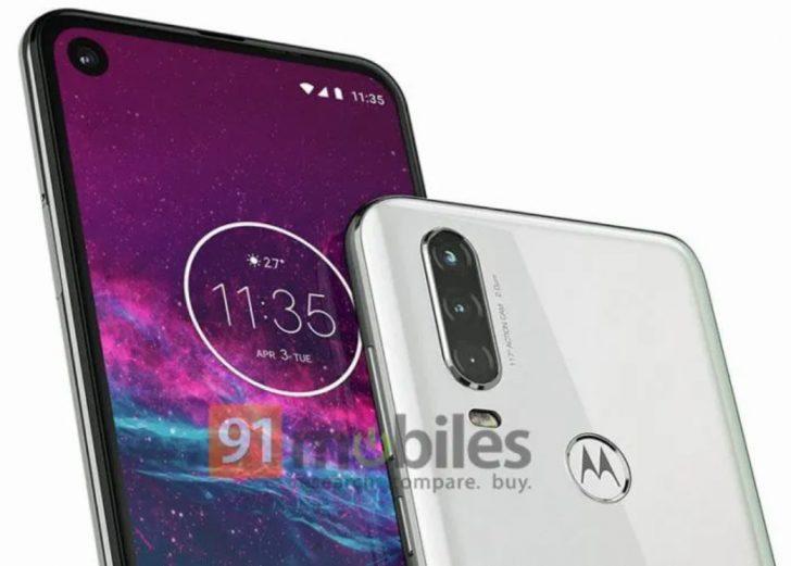 Motorola One Action renders reveals triple rear camera setup