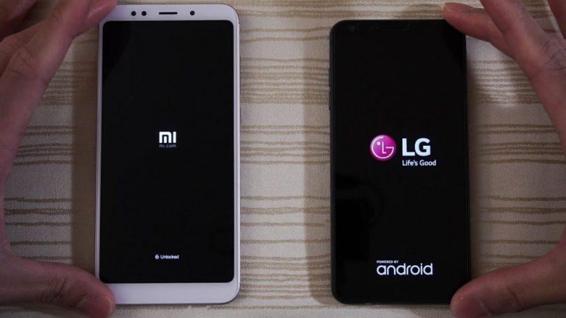 Xiaomi caught plagiarising LG's artwork for its Spanish website