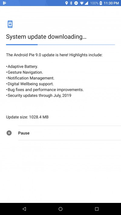 First-gen Razer Phone Android Pie Update