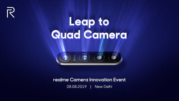 Realme Quad Camera announcement event
