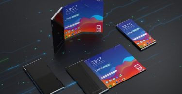 Renders of LG's rollable smartphone