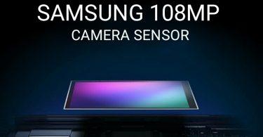 Samsung 108MP Camera Sensor