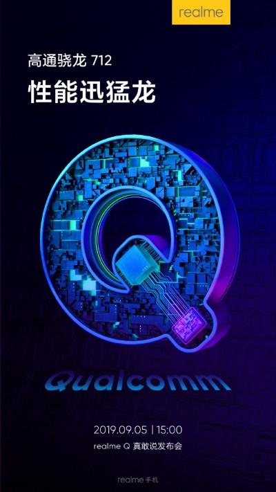 Realme Q launch event