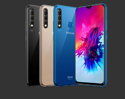infinix smart 3 plus full colors image
