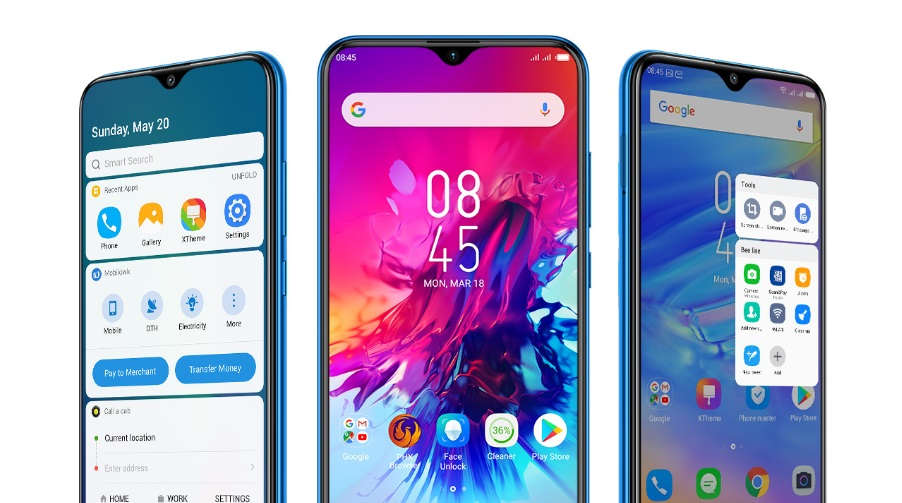 infinix smart 3 plus screen images