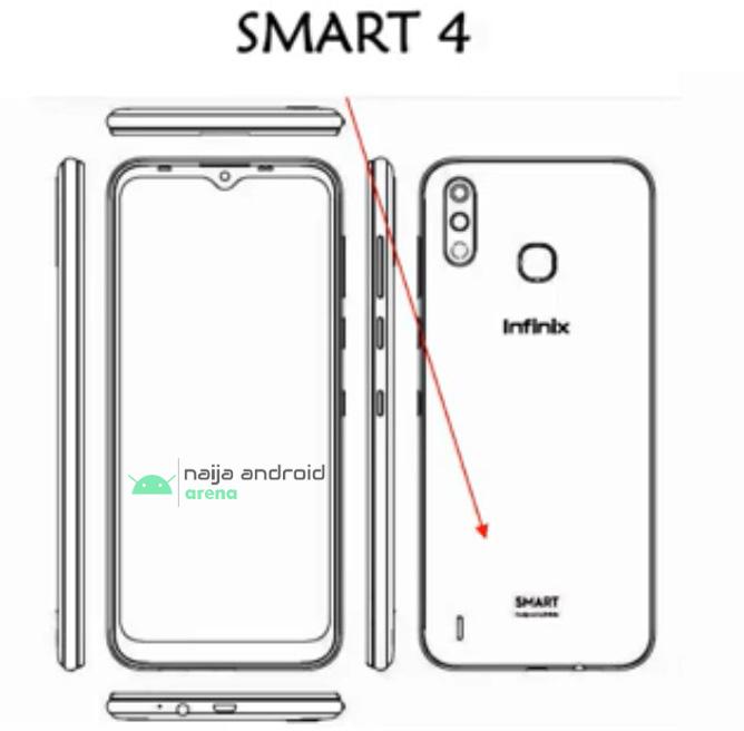 infinix smart 4 leaked image