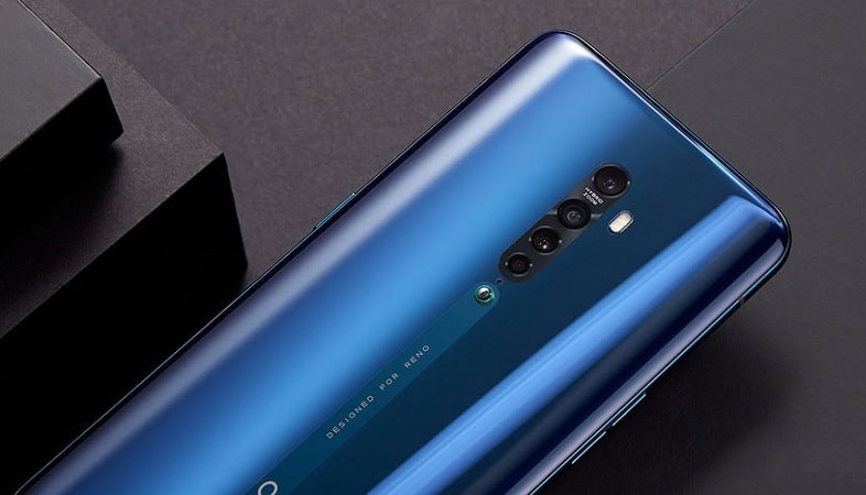 oppo reno ace back view